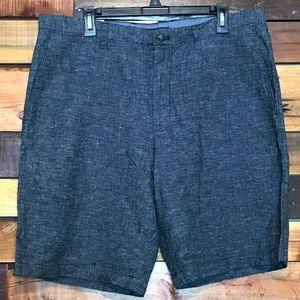 Banana Republic Straight Fit Linen Style Shorts